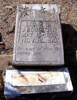 Leon B Abernathy
