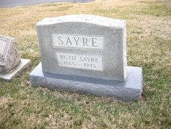 Ruth <i>Sayre</i> Sayre