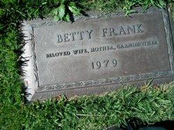 Betty Frank
