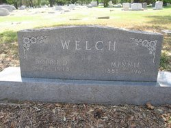Minnie Lanier <i>Colson</i> Welch