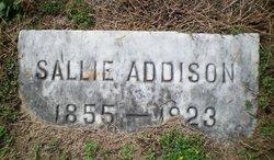 Sallie P Addison