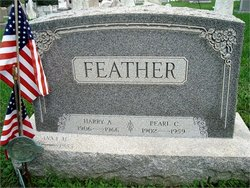 Pearl C <i>Faust</i> Feather