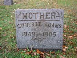 Catherine <i>Bowser</i> Adams