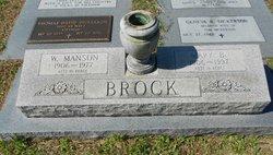Mary <i>Buffkin</i> Brock
