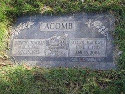 Allan MacKay Acomb