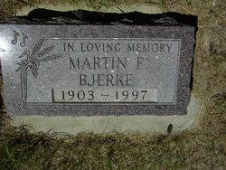 Martin F Bjerke