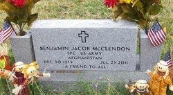 Benjamin Jacob McClendon