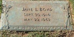 Jane <i>Love</i> Boyd