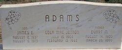 Lola Mae <i>Jetton</i> Adams