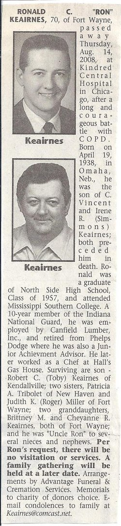 Ronald C. Ron Keairnes