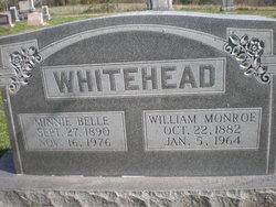 Minnie Belle <i>Palmer</i> Whitehead