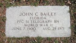 PFC John C. Bailey