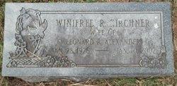 Winifred R. <i>Kirchner</i> Alexander