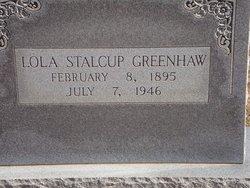 Lola <i>Stalcup</i> Greenhaw