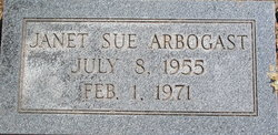 Janet Sue Arbogast