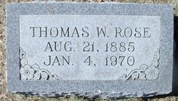 Thomas Weatherford Uncle Tom Rose