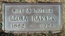 Leona <i>Talbott</i> Barker