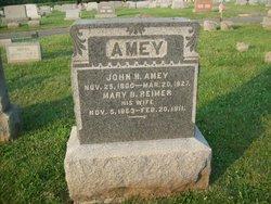 Mary B. <i>Reimer</i> Amey