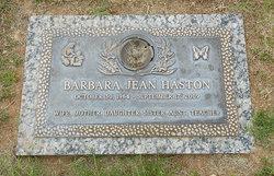 Barbara Jean Haston