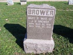 Mary P <i>Knight</i> Brower