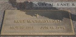 Ruby <i>Lane</i> Christesen