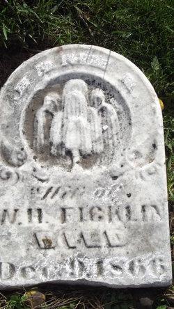 Catherine Jane <i>Dickerson</i> Ficklin