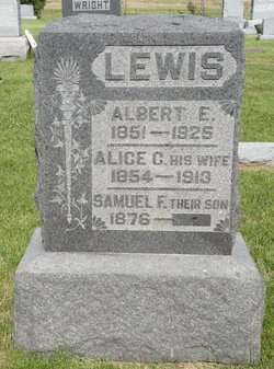Alice C <i>Bazler</i> Lewis