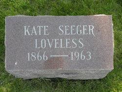 Kate <i>Seeger</i> Loveless