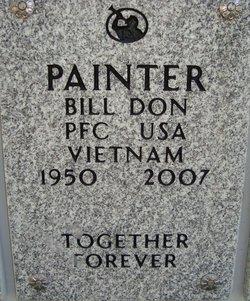 PFC Billy Don Bill Painter