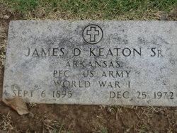 James D Keaton, Sr