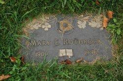 Mary E Rothrock