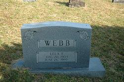 Lela F. Webb