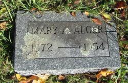 Mary A. <i>Comstock</i> Alger