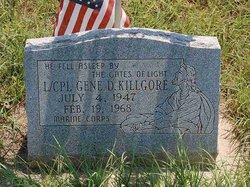 LCpl Gene D Killgore