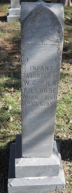 Infant Daughter Killgore
