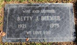 Betty Jean <i>Weber</i> Beemer