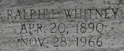 Ralph Edward Whitney