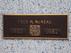 Fred Marshall McNeal