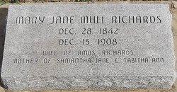 Mary Jane <i>Mull</i> Richards