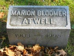 Marion <i>Bloomer</i> Atwell
