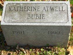 Katherine <i>Atwell</i> Bubie