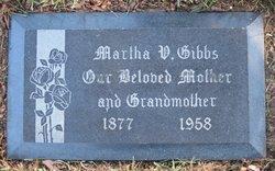 Martha Virginia <i>Collins</i> Gibbs