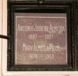 Antonio Joseph <i>de Almeida</i> Almeida