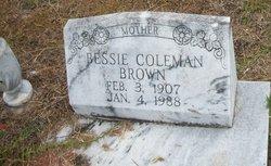 Bessie <i>Coleman</i> Brown