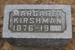 Margaret <i>Miller</i> Kirshman