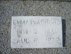 Emma F Achord