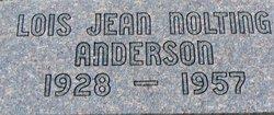 Lois Jean <i>Nolting</i> Anderson
