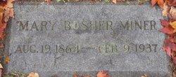 Mary Bosher Miner