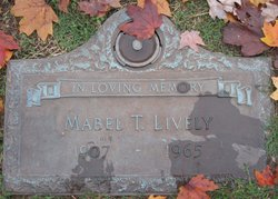 Mabel T Lively