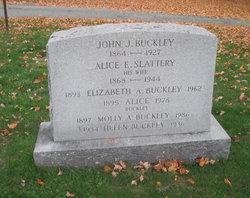 Alice E. <i>Slattery</i> Buckley